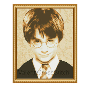 Harry Potter Cross Stitch Pattern