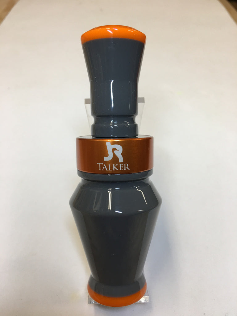 Standard Duck Call Grey With Orange tips