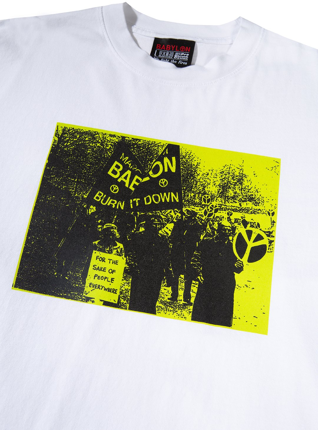 BURN IT DOWN LONGSLEEVE