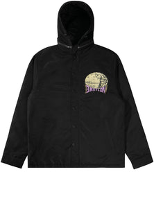 HOODED COACH'S JACKET
