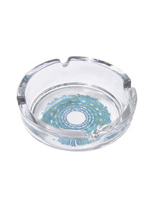 TRIP GLASS ASHTRAY