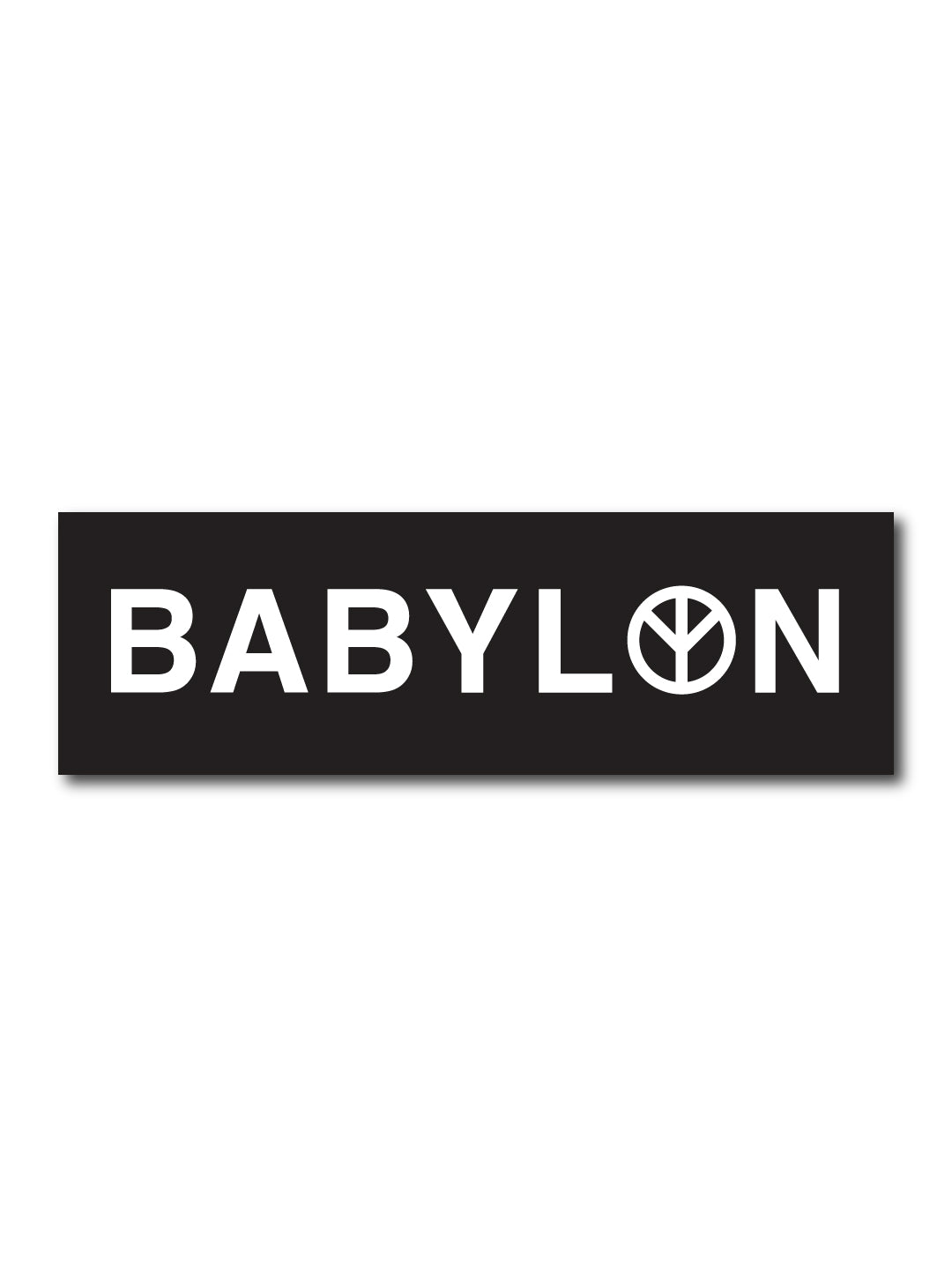 BABYLON STICKER