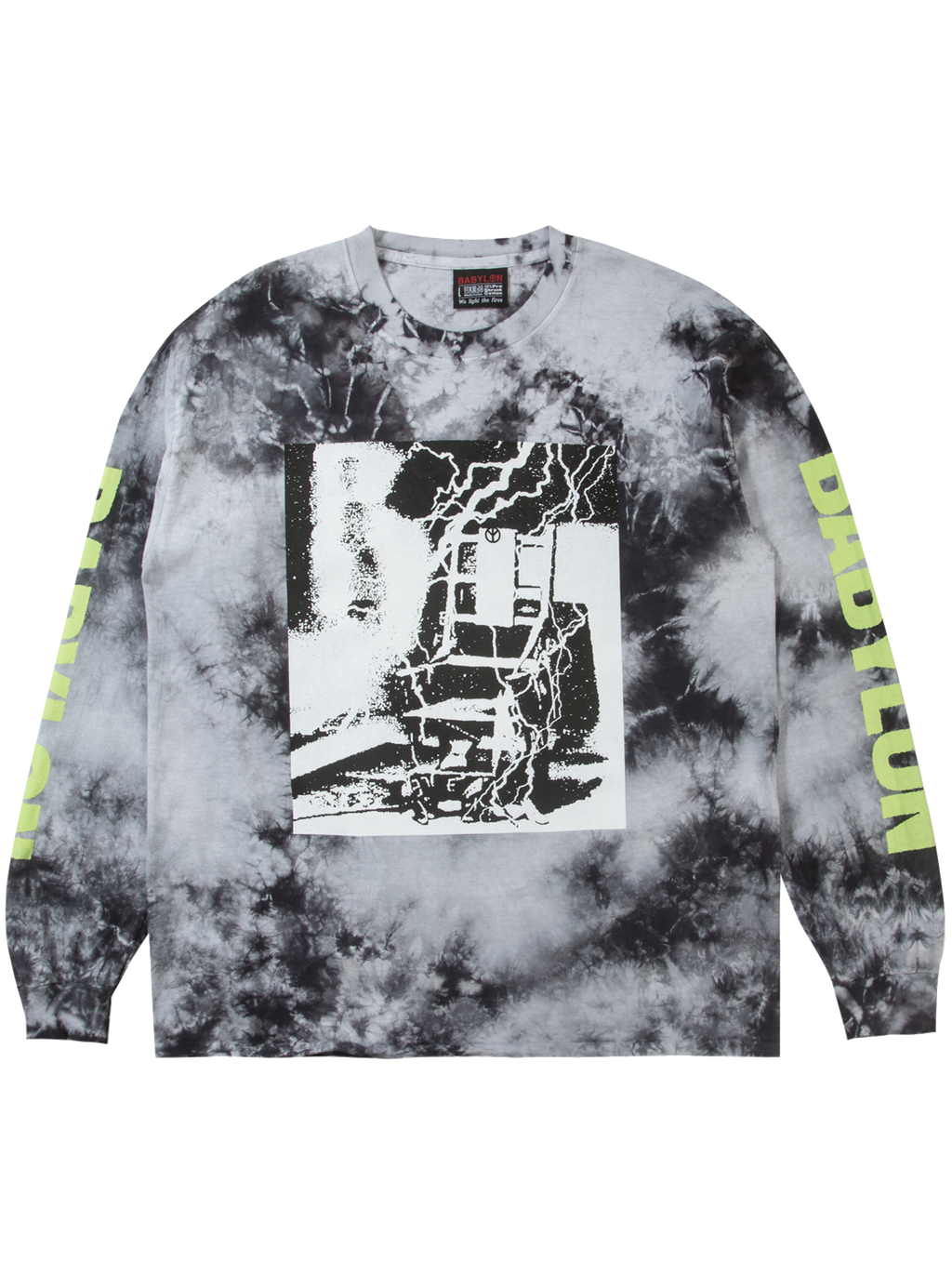 ELECTRIC DYED LONGSLEEVE