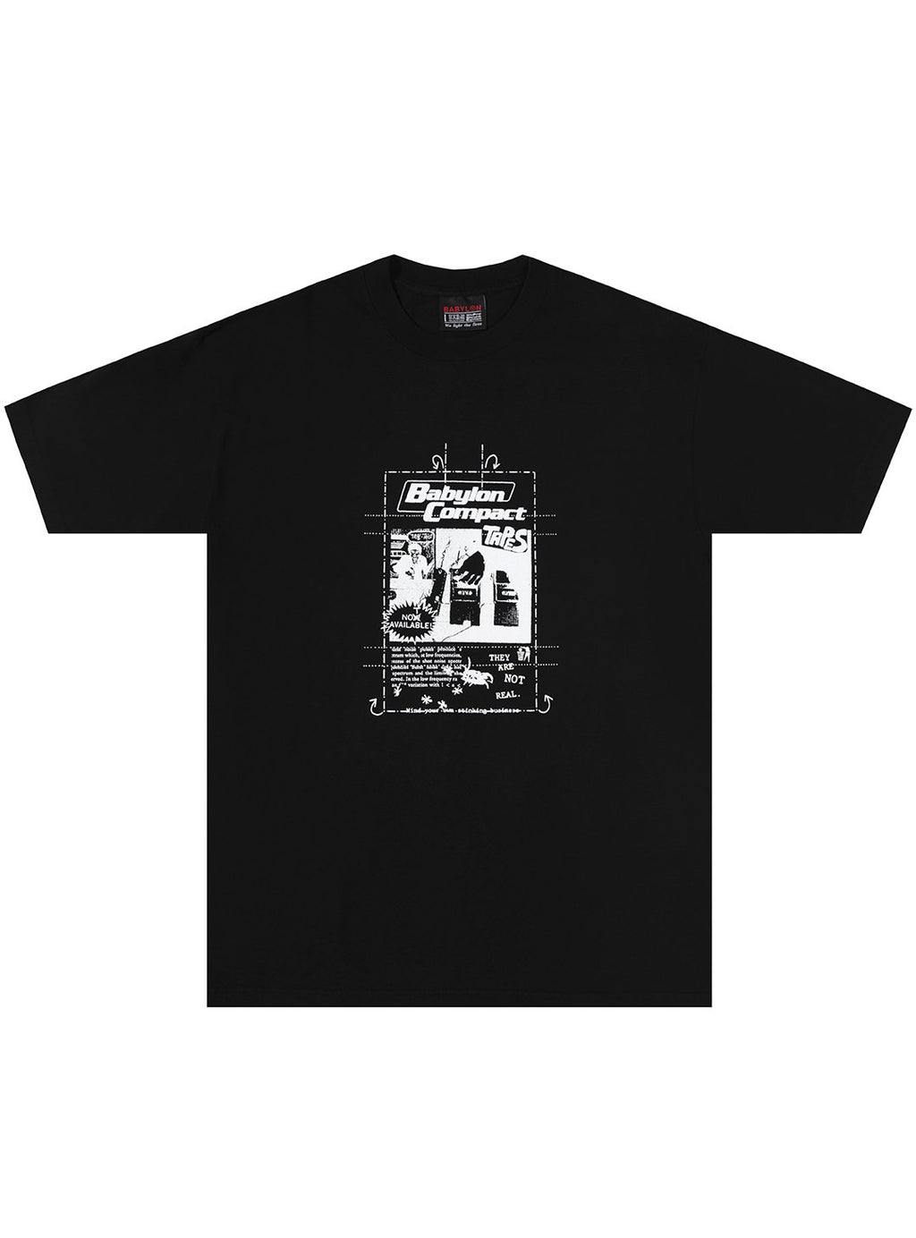 COMPACT TAPES TEE