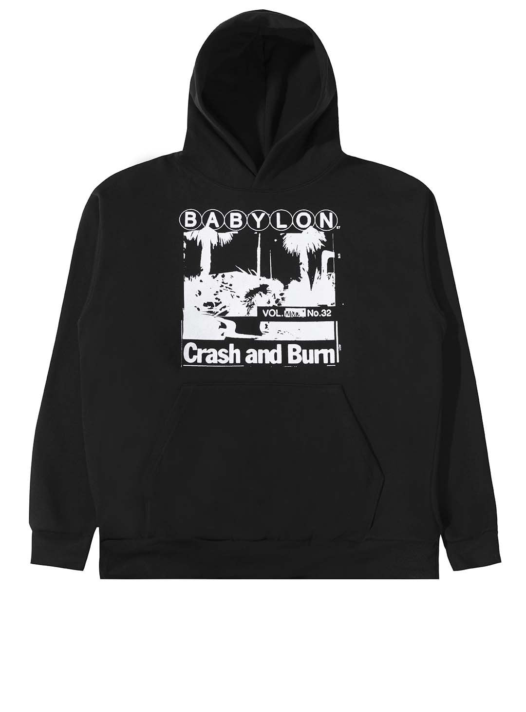 CRASH AND BURN HOODIE