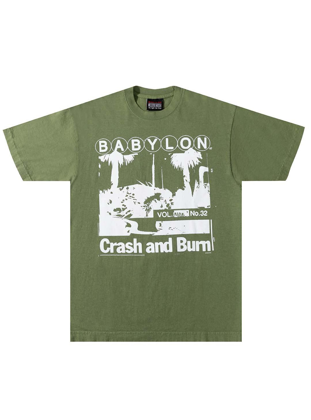 CRASH AND BURN TEE