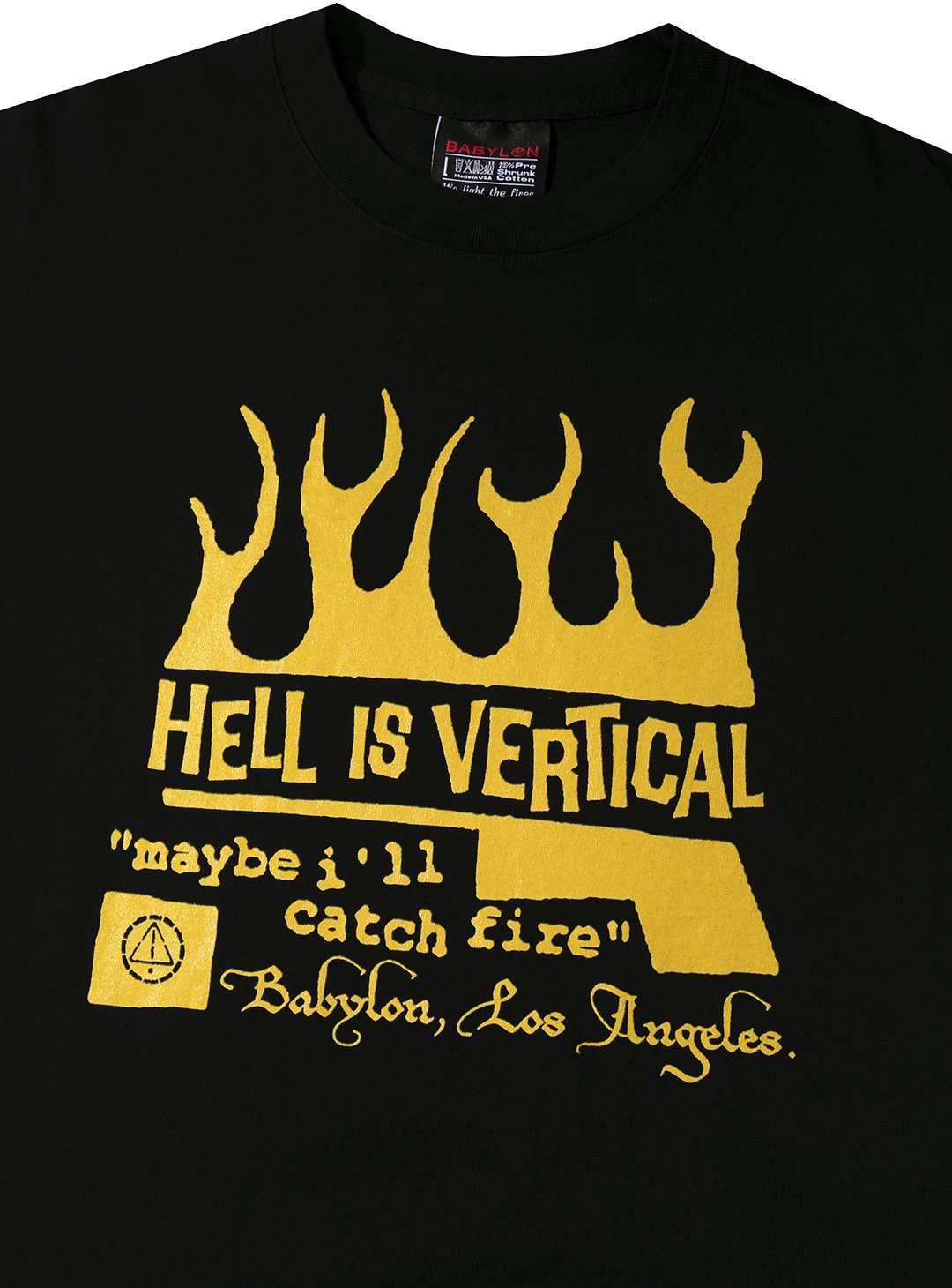 HELL IS VERTICAL TEE