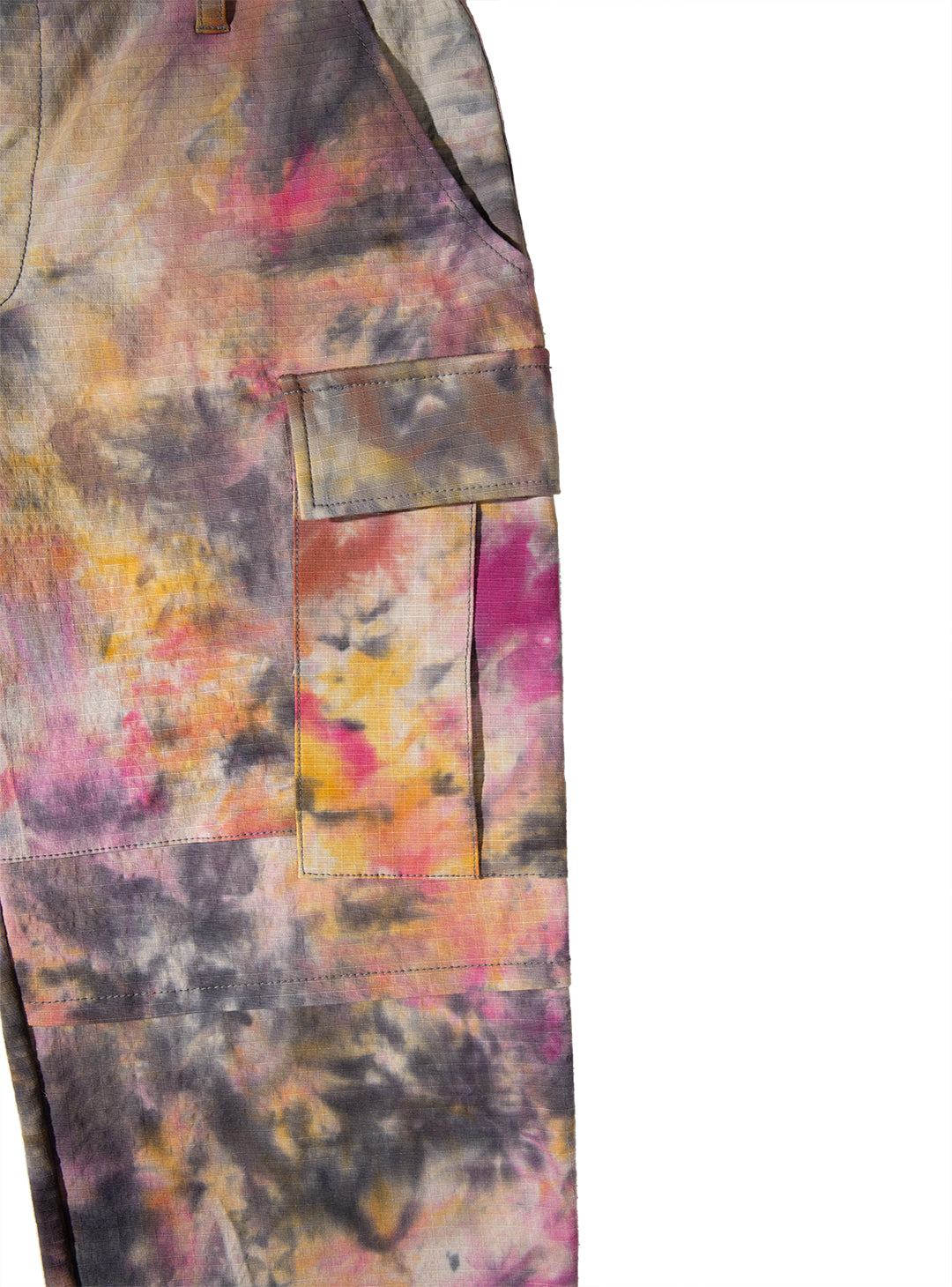 HAND DYED CARGO PANTS