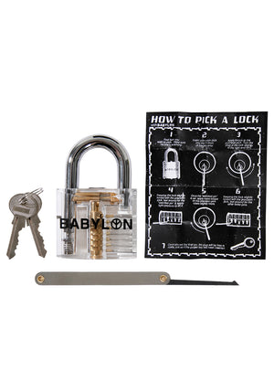 PICK PRACTICE LOCK SET