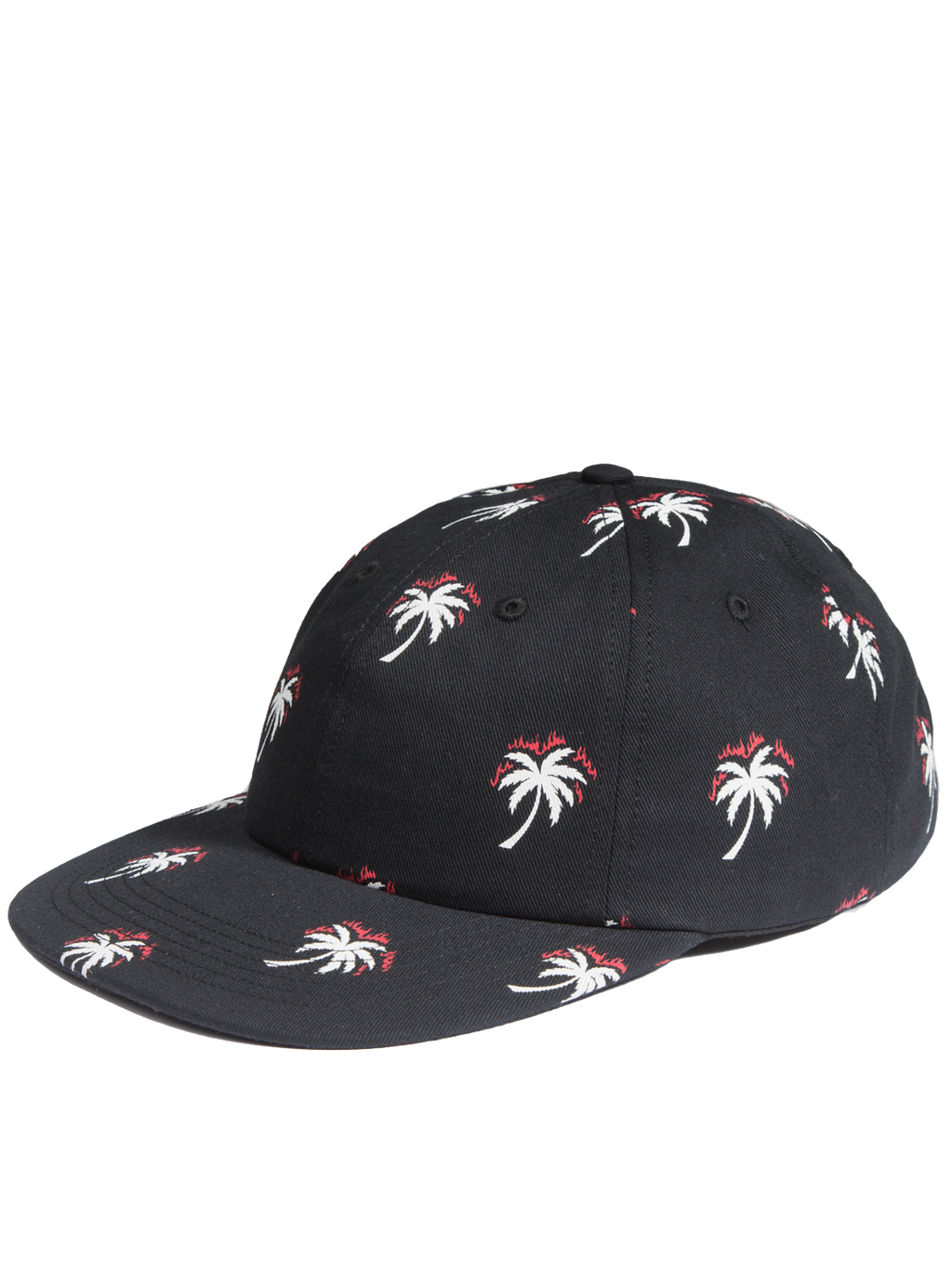 ALL OVER PALM TREE DAD CAP