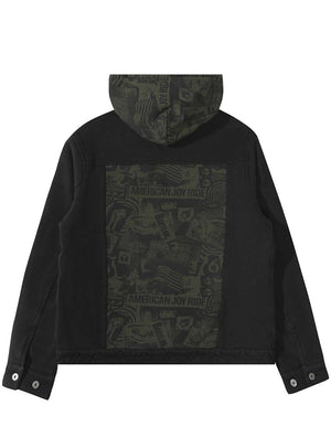 FLEECE TRUCKER JACKET