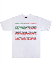 RIGHTS TEE