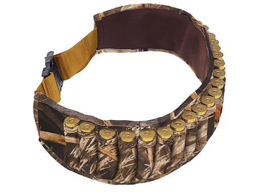 Allen 25 Round Camo Neoprene Shotshell Carrier Belt 2528