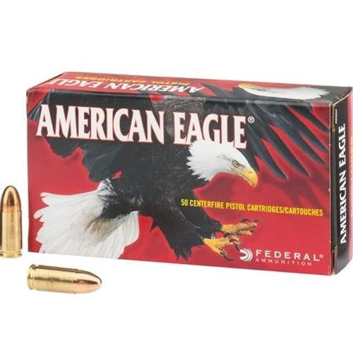 American Eagle 9MM 147 Grain FMJ AE9FP