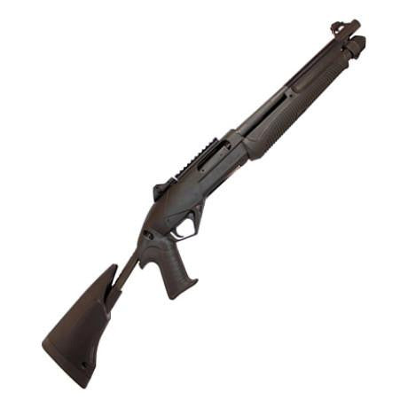 Benelli SuperNova Tactical 3-1/2'' 12-Gauge Pump Shotgun w/ Collapsible A0389400