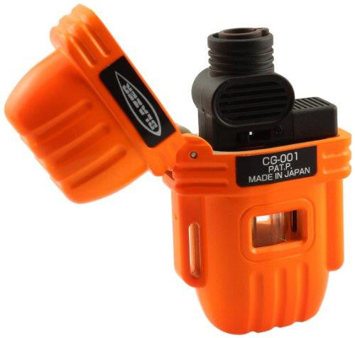 Blazer Orange CG-001 Butane Refillable Lighter