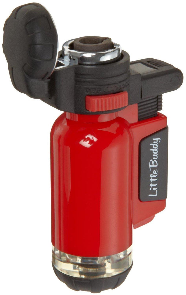 Blazer Red Little Buddy Butane Refillable Lighter