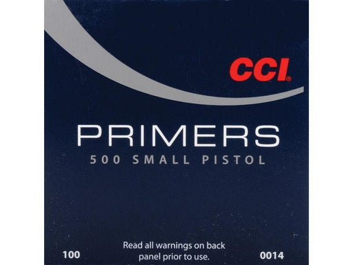 CCI Small Pistol Primers #500