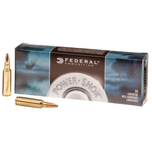 Federal Power-Shok Ammunition .270 WSM 130 Grain SP Ammunition 270WSME