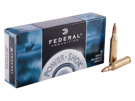 Federal Power-Shok .300 WSM 180 Grain SP Ammunition 300WSMC