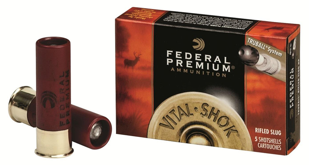 Federal Vital-Shok Trueball 12 Gauge 3in. Rifled Slug Lead PB131RS