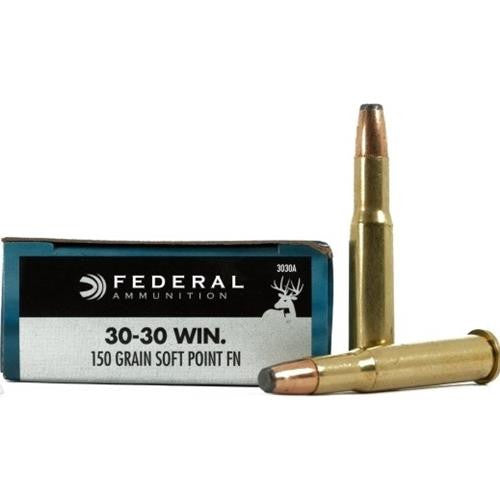 Federal Power-Shok 30-30 Win 150 Grain SP Ammunition 3030A