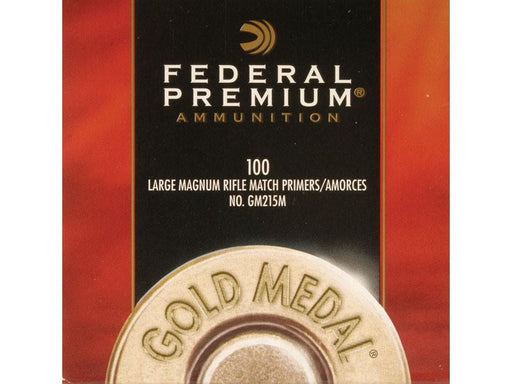 Federal Gold Medal Large Magum Rifle Match Primers #GM215M