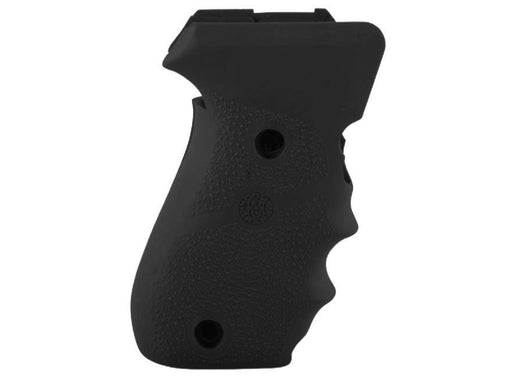 Hogue Black Rubber P220 Side Magazine Release with Finger Grooves Grips