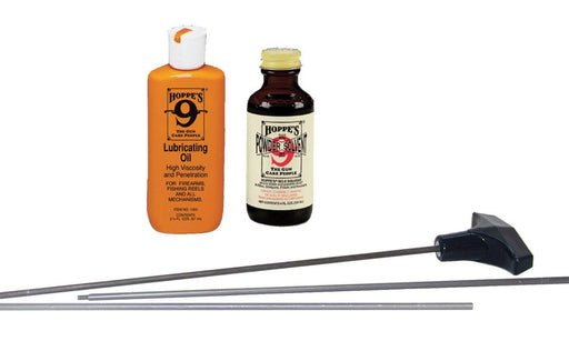 Hoppe's No. 9 Universal Rifle and Shotgun Cleaning Kit with Aluminum Rod