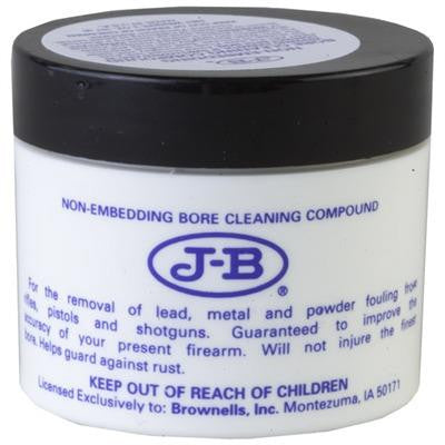 J-B Blue Non-Embedding Bore Cleaning Compound