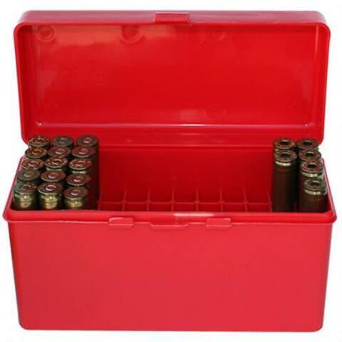 MTM Red 60 Rounds Flip Top Box for 30 Calibre