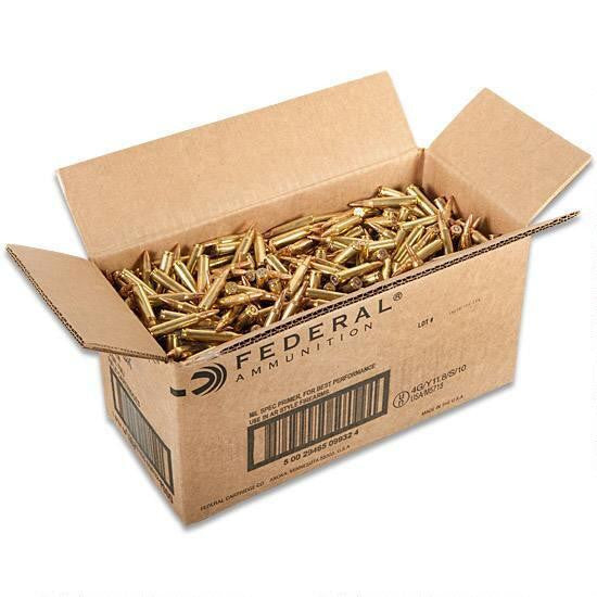 American Eagle .223 Remington 55 Grain FMJ 1000 Rounds Loose Ammunition