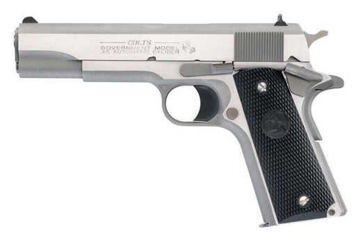 Colt .45 ACP Stainless Steel Government Pistol