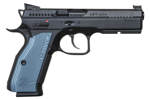 CZ 9MM Black and Blue Shadow 2 Pistol