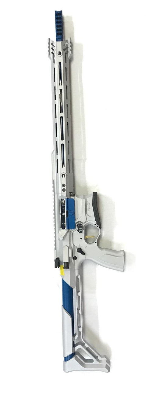 Cobalt Kinetics .223 Wylde TEAM Silver/Blue Rifle