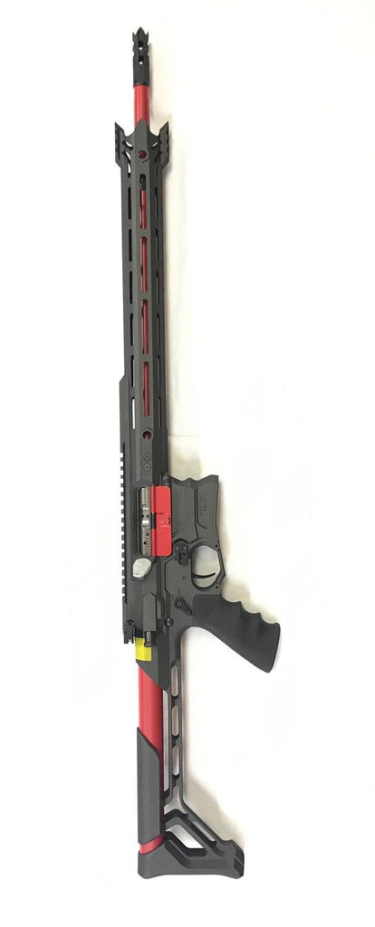 "Cobalt Kinetics .223 Wylde EDGE 18"" Cobalt/ Red Rifle"