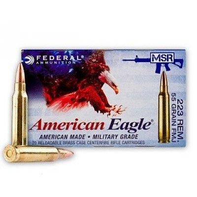 American Eagle .223 Remington 55 Grain FMJ Ammunition