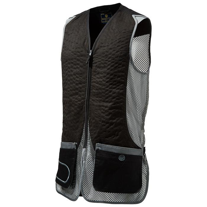 Beretta DT11 Black and Grey Shooting Vest