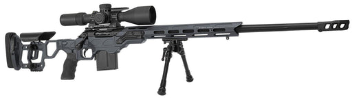 Cadex 6.5 Creedmoor Stealth Grey 20 MOA R7 Field Comp Rifle with Muzzle Brake