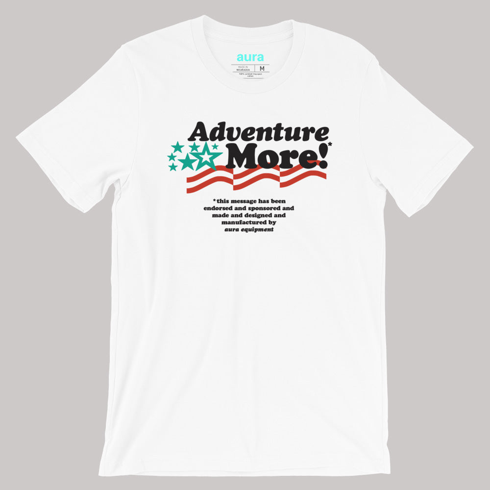 I Vote for Adventure - White