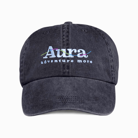 Vote for Adventure Embroidered Dad Hat - Black
