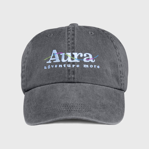 Vote for Adventure Embroidered Dad Hat - Charcoal