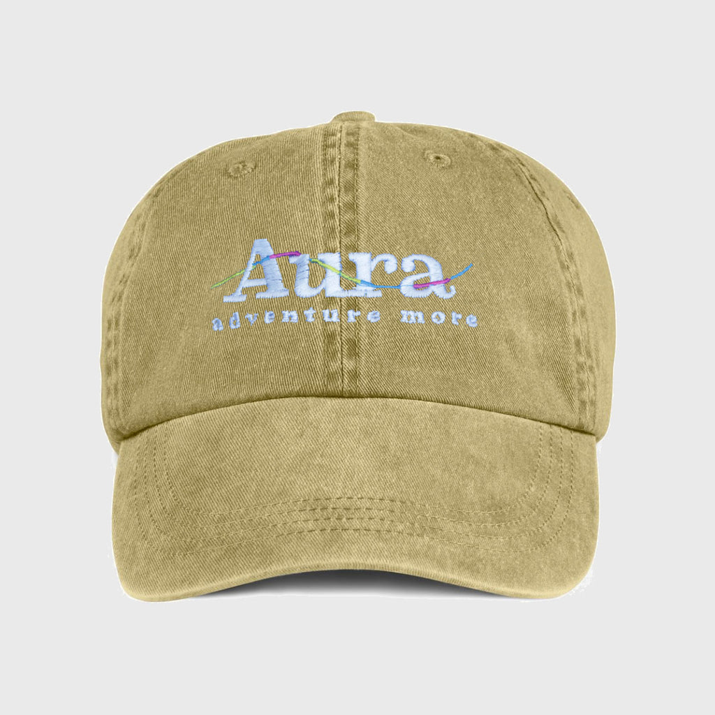 Vote for Adventure Embroidered Dad Hat - Khaki