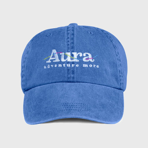 Vote for Adventure Embroidered Dad Hat - Blue