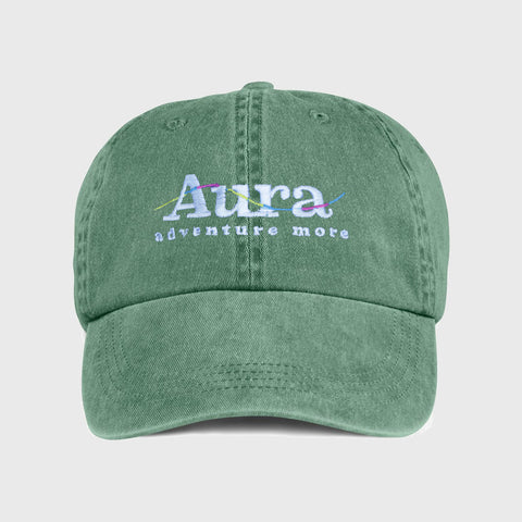 Vote for Adventure Embroidered Dad Hat - Green