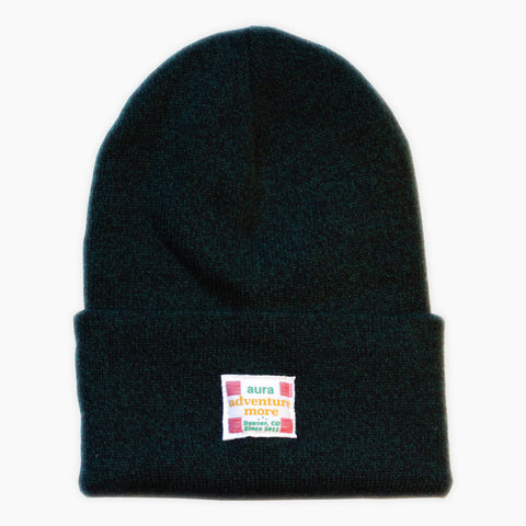 Adventure More Aura x Carhartt Beanie - Green