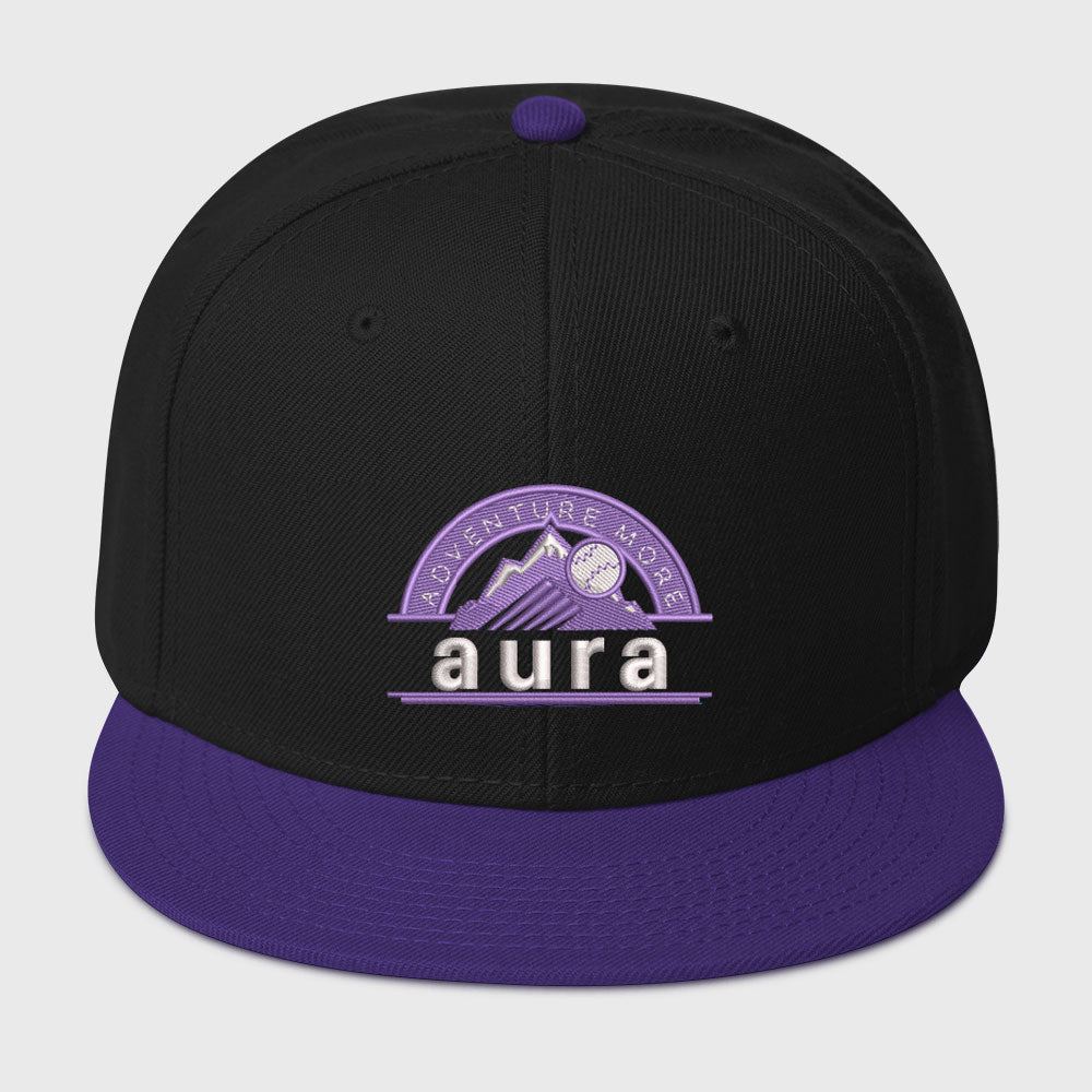 purple mountains snapback