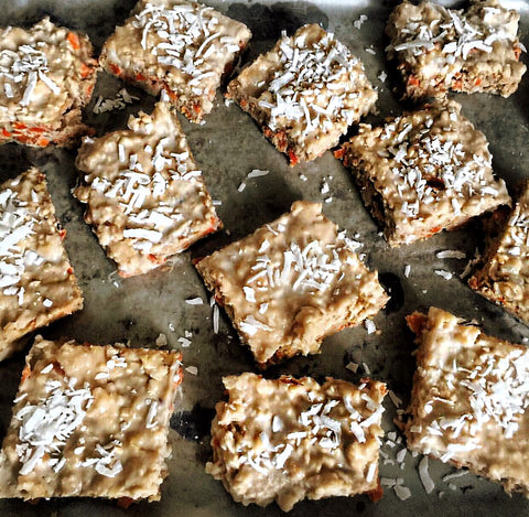 Recipe of the Week: Carrot and Fudge Peanut Butter Bars