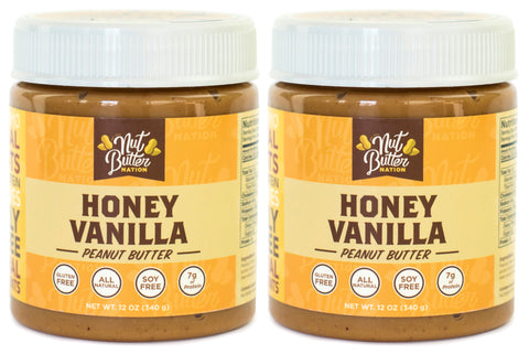 Honey Vanilla Peanut Butter - Pack of 2 (12 oz)