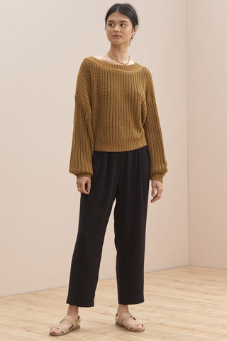 SANCIA The Valetta knit | Italian Straw
